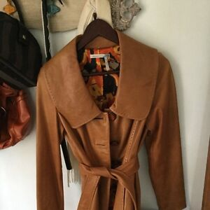 Classic Entier real leather coats