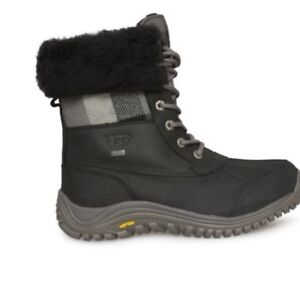 Brand new women's Ugg Adirondack plaid boot for sale size 8.5