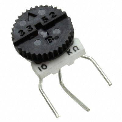 Bourns 3352 Series Trimmer Potentiometer Trimpot 10 Kohms Side Adjust