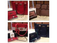 Michael Kros handbags and free purse