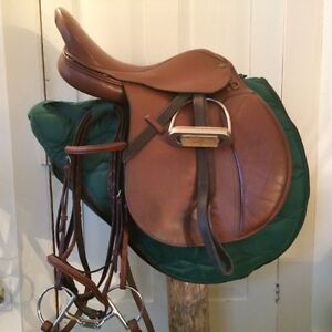 Complete English Saddle Show package