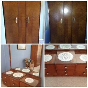 3 piece bedroom suite, 50/60s vintage Revesby Heights Bankstown Area Preview