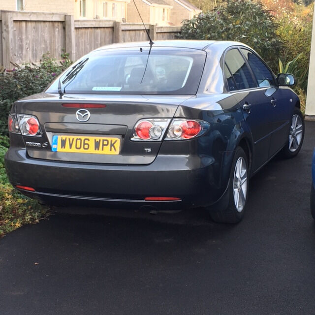 2006 grey mazda 6 ts 2 litre 145 bhp hatchback mot. Black Bedroom Furniture Sets. Home Design Ideas