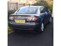2006 Grey Mazda 6 TS 2 litre (145 bhp) hatchback, MOT until 13/3/17, almost FSH, low mileage