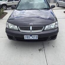 2001 Nissan Pulsar Sedan, Air Con, Rego, DRIVE AWAY! Williamstown North Hobsons Bay Area Preview