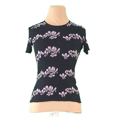 Auth ARMANI Colletioni Cut and sewn flower used P716