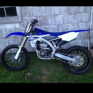 2015 Yamaha YZ450F - Trade for sled or RENEGADE