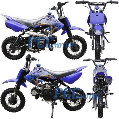Coolster New 70cc Kids 4 Stroke CRF Style Dirt Bike DB70 Blue