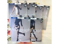6 × Brand New M&S Autograph (Medium) Matt Stockings / Tights RRP£34 Bridal Holdup Ladder Resist