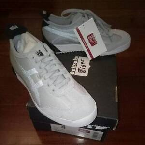 Authentic Onitsuka Tiger Grey & Black Lace Unisex Shoes RRP $180 Canley Vale Fairfield Area Preview