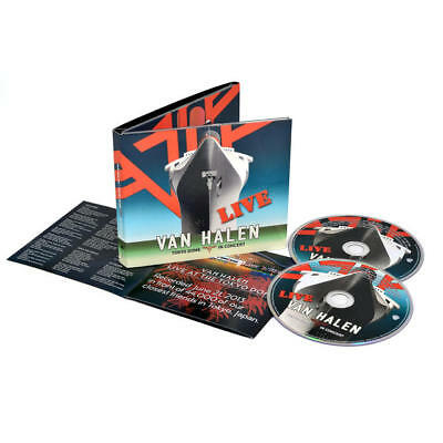 New: VAN HALEN - Tokyo Dome in Concert: Live (W/David Lee Roth) 2 CD SET!