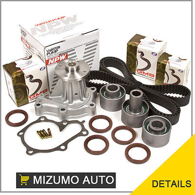 Fits 90-96 Nissan 300ZX Non & Turbo 3.0L VG30DETT Timing Belt Water Pump Kit