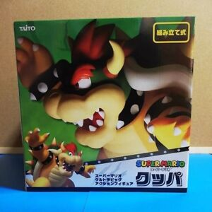 BIG 30cm Bowser Taito Super Mario Nintendo Japan Anime Figure