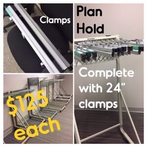 PLAN FILES, DRAWERS OR HANGING-STYLE, USED, SEVERAL AVAIL.