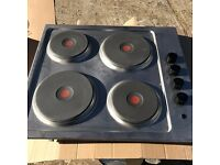 Electrolux EHS6140HOX 60cm Solid Plate Electric Hob x2