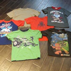 6 T-SHIRTS - ALL FOR $6