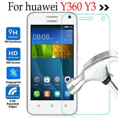 100% Genuine Tempered Glass Screen Protector For Huawei Y360 Y3 Mobile (Best Mobile Phone For 100)
