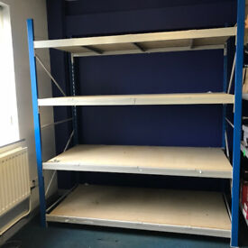 Longspan Shelving - For Warehouse, Office, Storeroom, Workshop & Garage - Excellent Condition