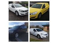 VAUXHALL ASTRA VANS AND COMBO VANS BOUGHT FOR CASH RUNNER NON RUNNER SNAPPED CHAIN BLOWN ENGINES ETC