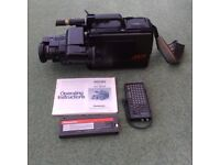 Panasonic NV-M7B VHS Movie Camera