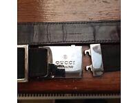 Genuine Gucci belt