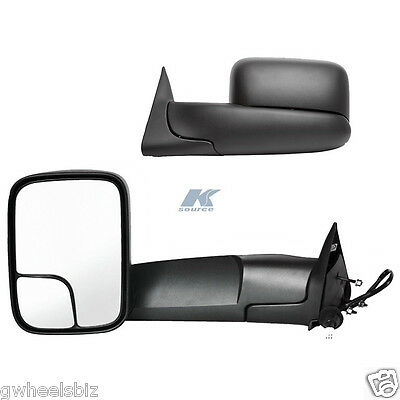 1998-2001 DODGE RAM 1500 / 1998-2002 DODGE RAM 2500 3500 POWER HEATED TOW MIRROR