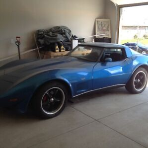 1979 Corvette. 2nd owner.  Rebuilt engine