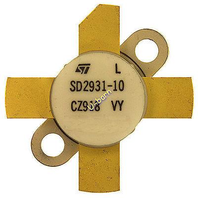 St Sd2931-10  Rf Transistor Rf Power Transistorshfvhfuhf