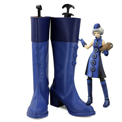 Persona 3 Elizabeth Cosplay Shoes Long Boots  Halloween Christmas Party FF.2020