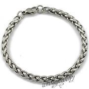 Womens Stainless Steel Chain Bracelet