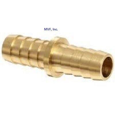 Hose Barb Mender Splicer For 34 Id Hose Npt Brass Fuel Fitting Hm-12