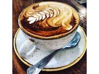 Experienced Barista Needed - Fast paced - London - Phenomenal pay /service charge