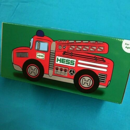 Hess 2020 Toy Plush Fire Truck New