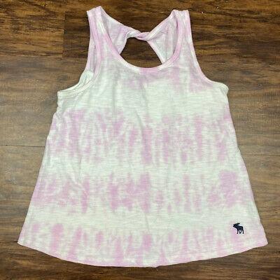 Abercrombie Kids, Girls Tie Dye Purple Tank, Size 9/10