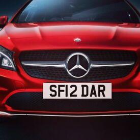 SARDAR Number Plate
