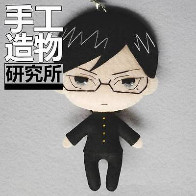 Japanese Anime Sakamoto desu ga? Costume Cute DIY Toy Doll Keychain Material MH (Diy Anime Costume)