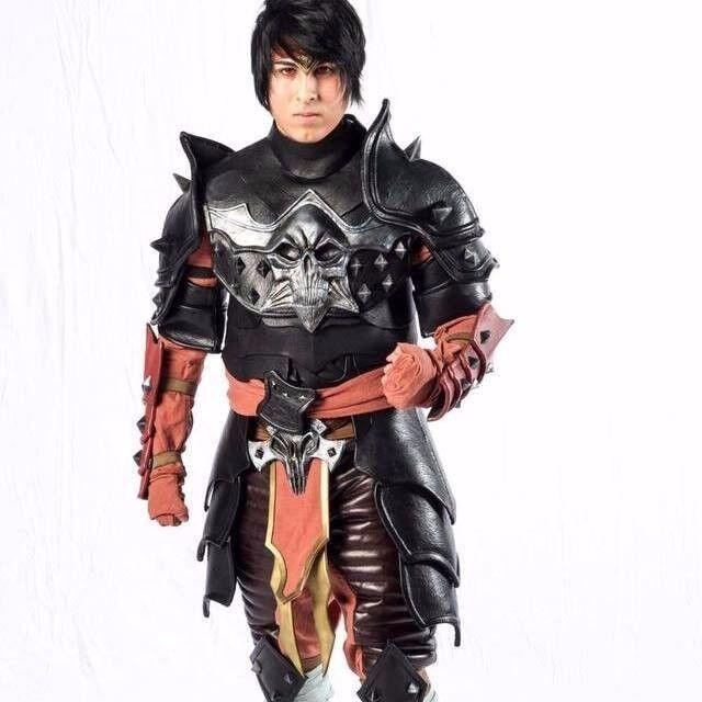 mortal Kombat Cosplay Liu Kang MK X 11