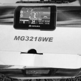 Sat Nav MG3218WE can be used in Europe