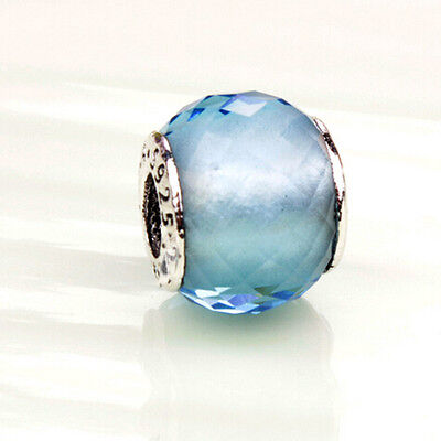 Authentic Pandora Blue FascinatIon Charm 925 Sterling Silver New