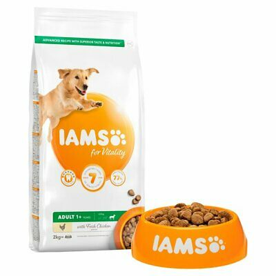 IAMS for Vitality Adult Large Dog Food with Fresh Chicken 2kg