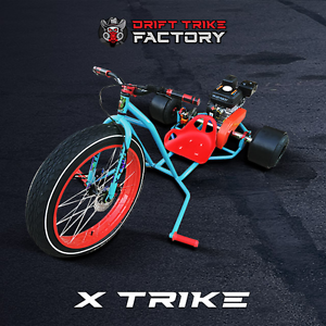 Motorised Drift Trike Teal / Red By Drift Trike Factory North Lakes Pine Rivers Area Preview