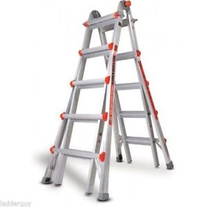 Little Giant 22 foot  (M22 Type 1) ladder system + accessories.