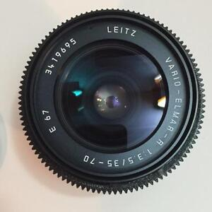 Leica R 35-70mm F3.5 made in Germany - (Cine Modify) - $775