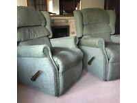 FREE to Collect - 2 x Reclining Armchairs, in good condition