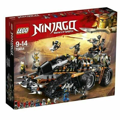 BRAND NEW SEALED LEGO NINJAGO 70654 DIESNAUT CAR TRUCK WITH 7 MINIFIGURES NINJA