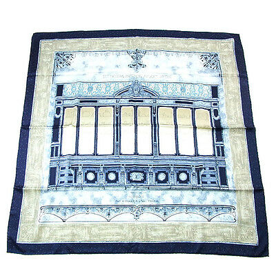 Auth Louis Vuitton scarf street scenery pattern only unisex J7583