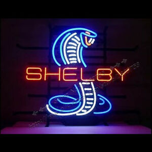 Just in , Shelby Cobra neon sign, new price