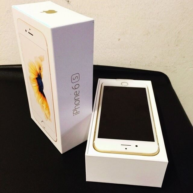 Iphone 6s 64gb gold colour unlocked