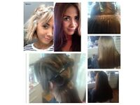 Mobile hairdresser, russian hair extensions, spray tan, gel polish, top prices, any location