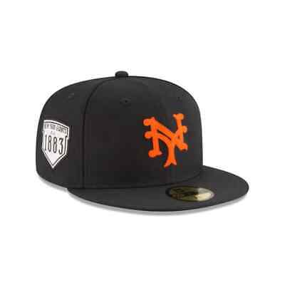 New York Giants MLB New Era Cooperstown Collection On-Field 59FIFTY Fitted Hat  New York Giants Mlb
